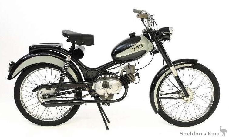 Parilla 49cc Touring Moped