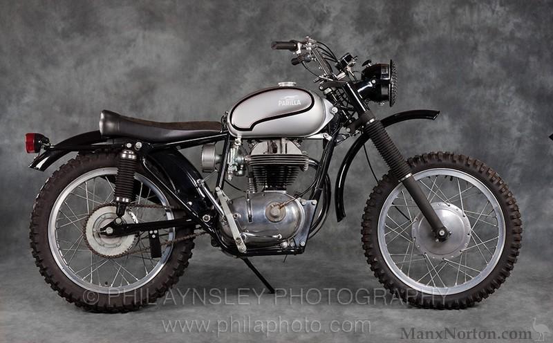 Parilla Wildcat 1965 Scrambler