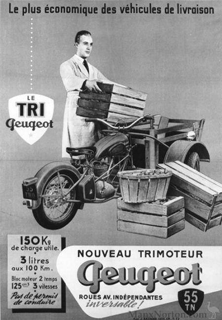 Peugeot Trimoteur