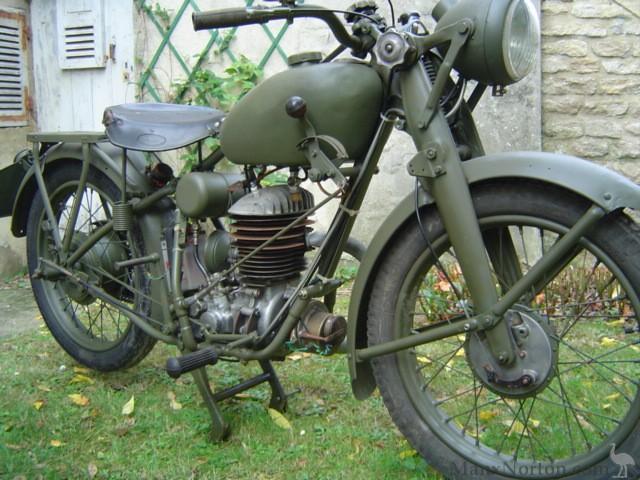 Puch 250 S4 1939 Military