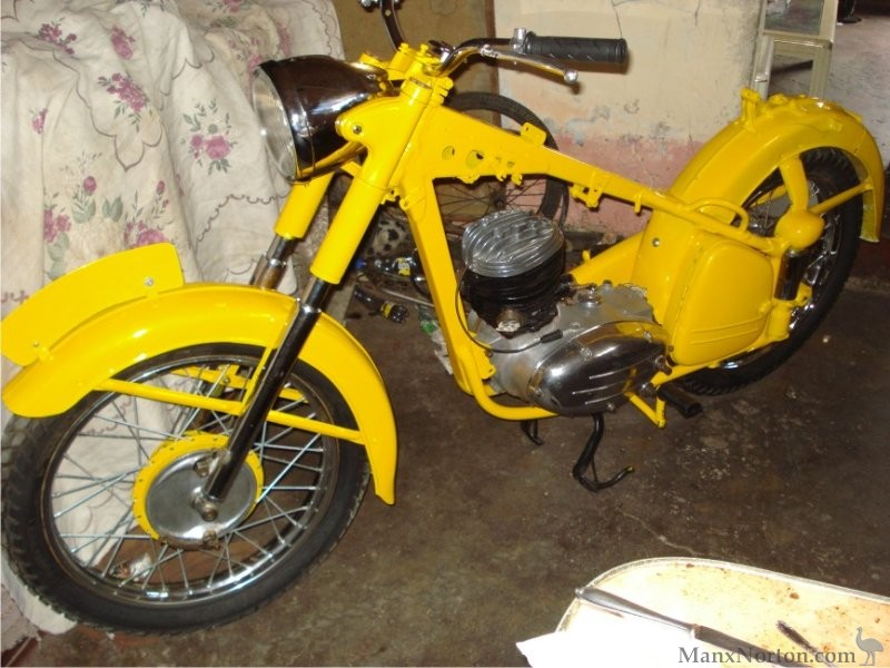 puch 1951 tf250 restoration
