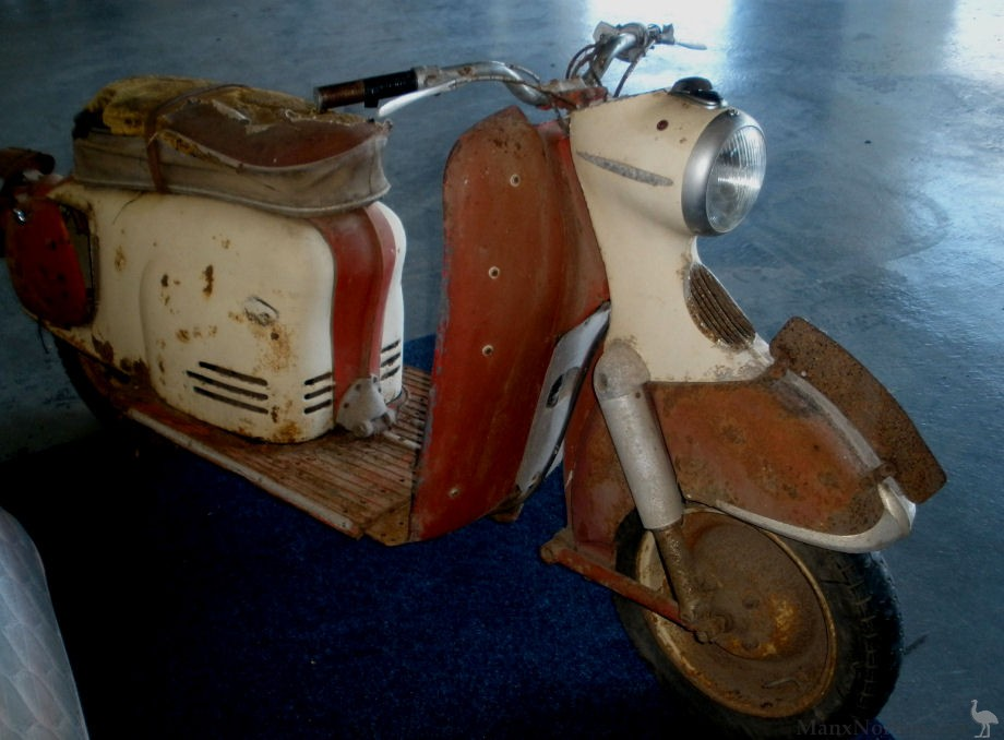 puch 1961 sr150 scooter