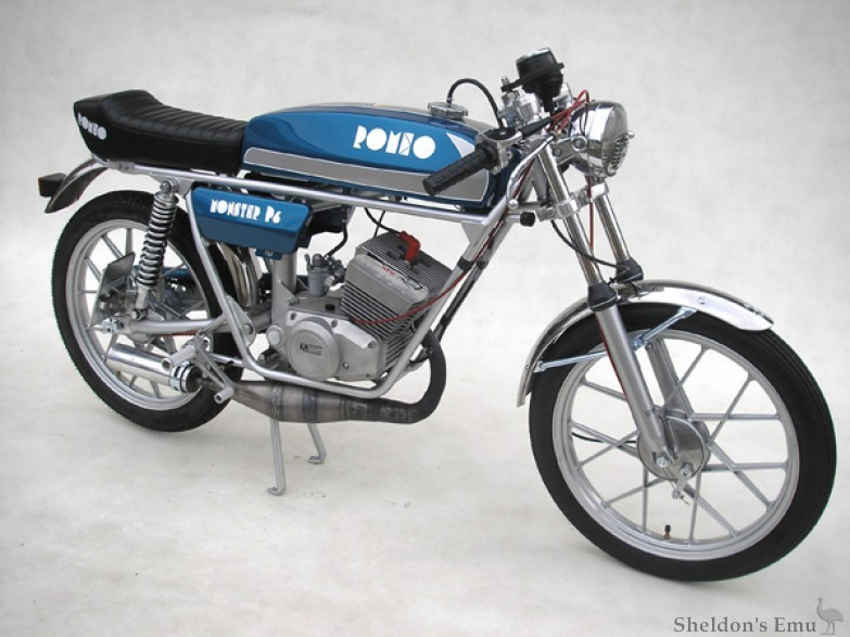 Romeo 1972 Monster P4