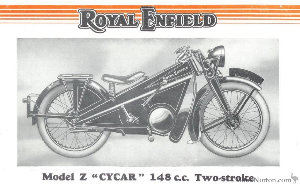 Royal Enfield 148cc Model Z