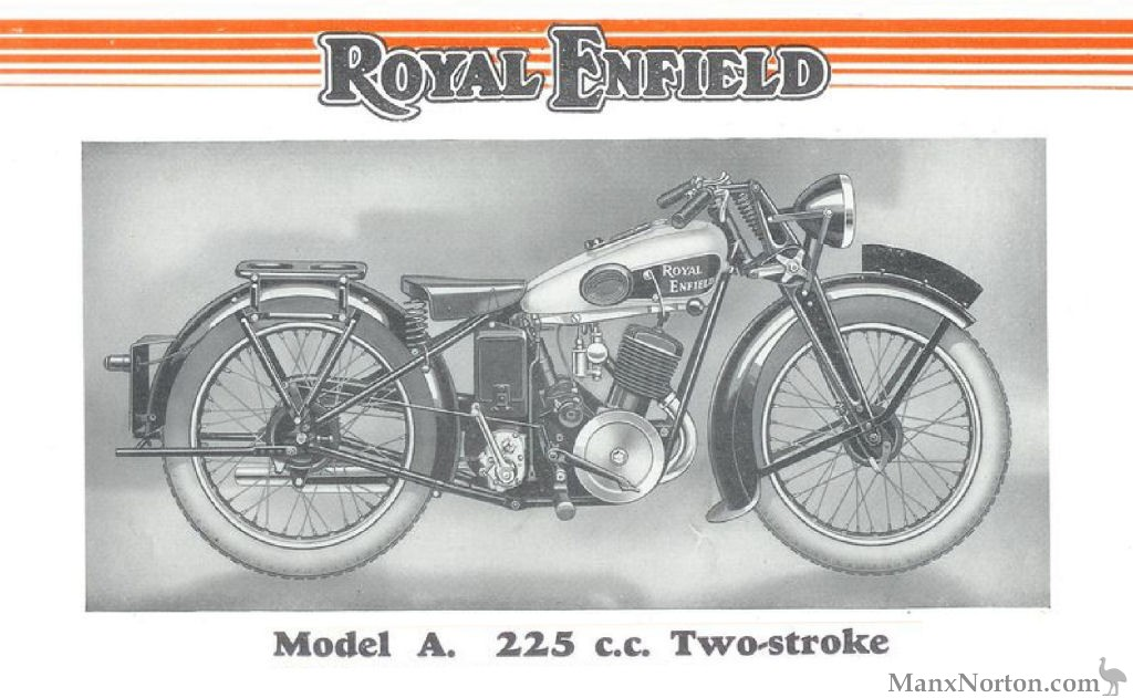 Royal Enfield 225cc Model A