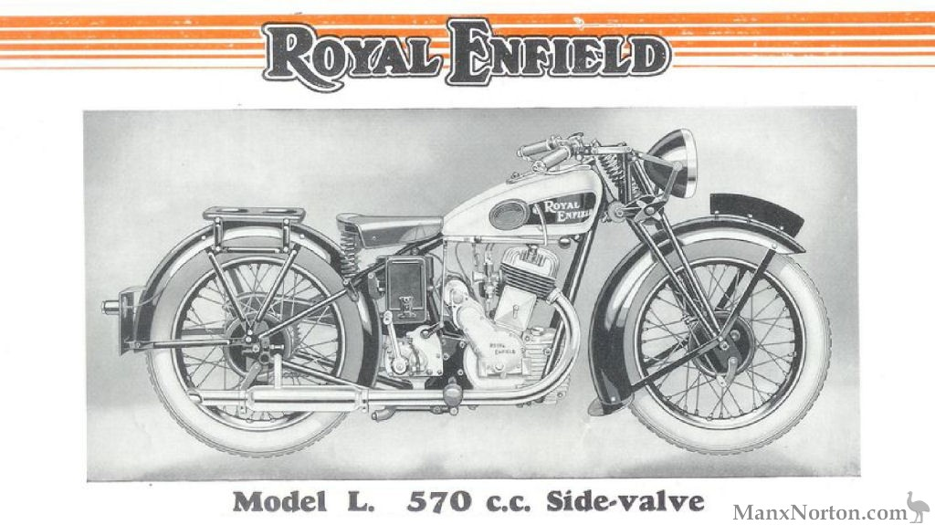 Royal Enfield 570cc Model L