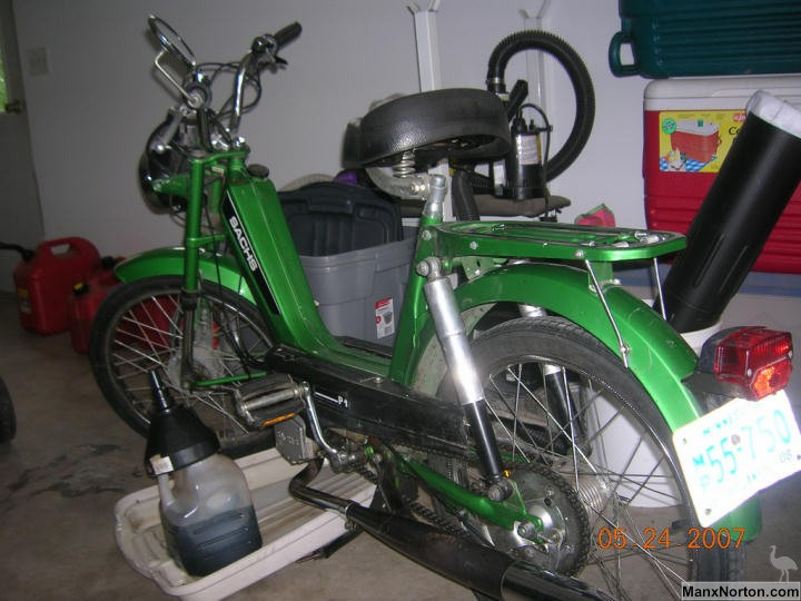 Sachs Moped 1979 border=