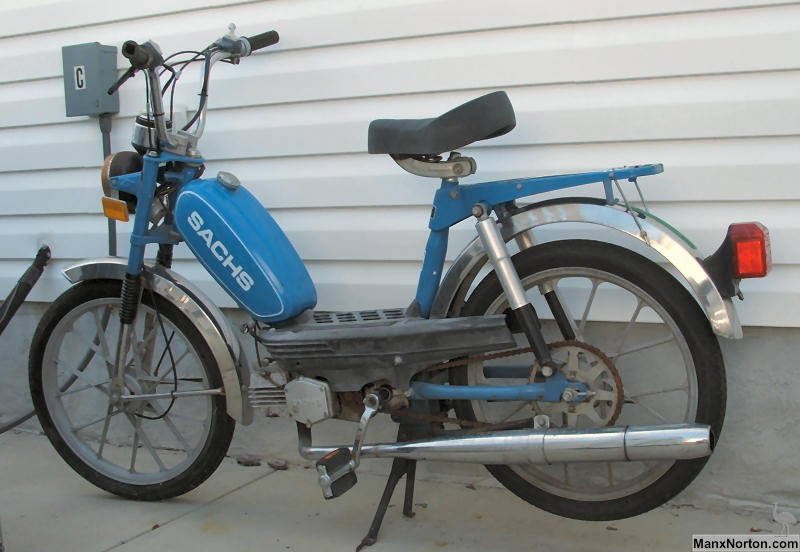 Motorcycles For Sale In Nc >> Sachs 1980 Moped