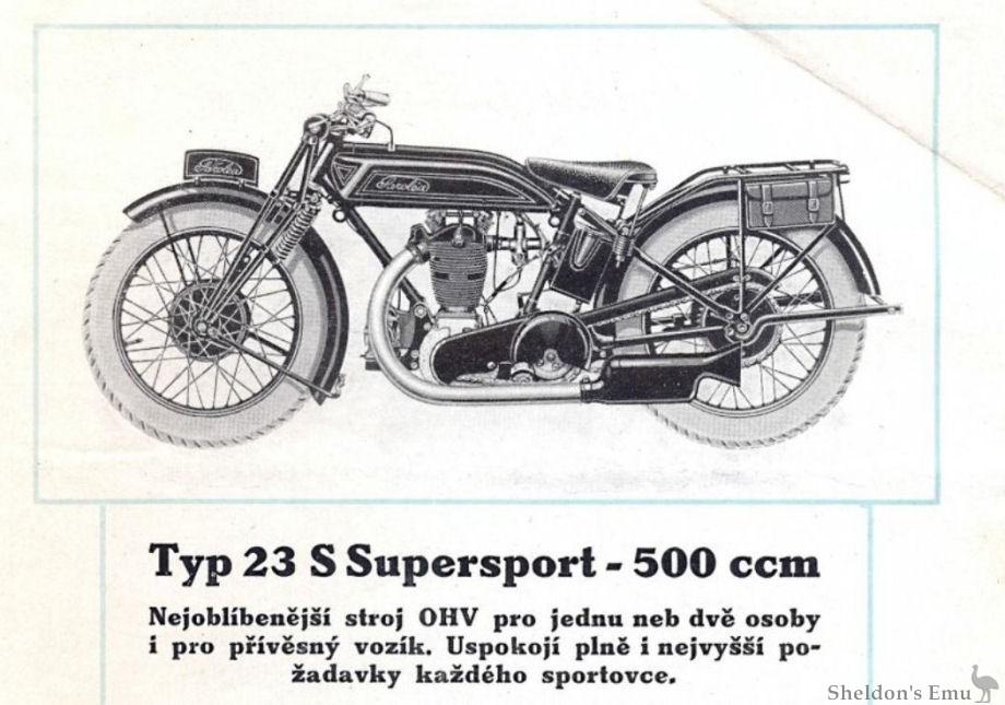 Sarolea 1928 23s 500cc Supersport