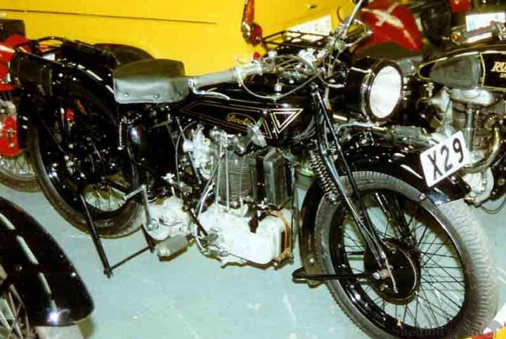 Sarolea 1928 25n Supersport 350cc