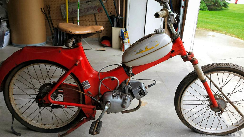 Sears Puch Hardtail Moped 810