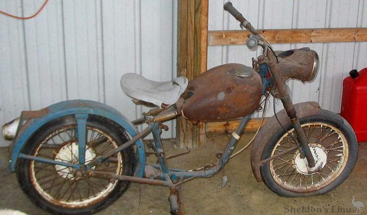 Allstate 1961 moped hardtail allstate 1961 moped hardtail sears