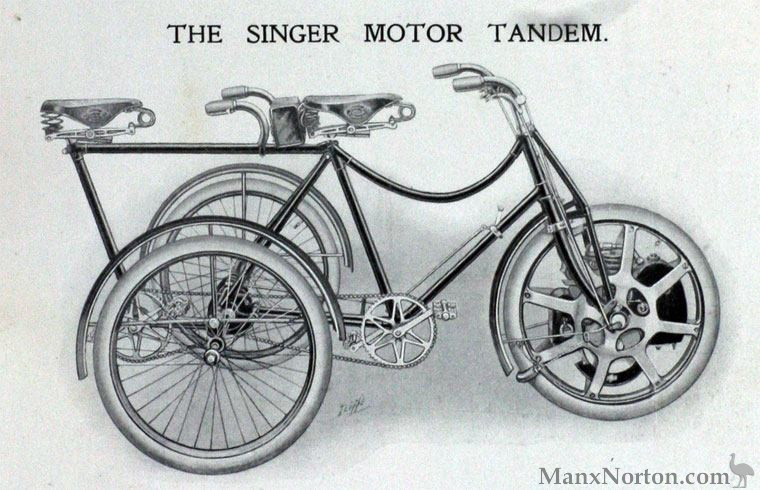 Singer-1902-Tandem-Tricycle