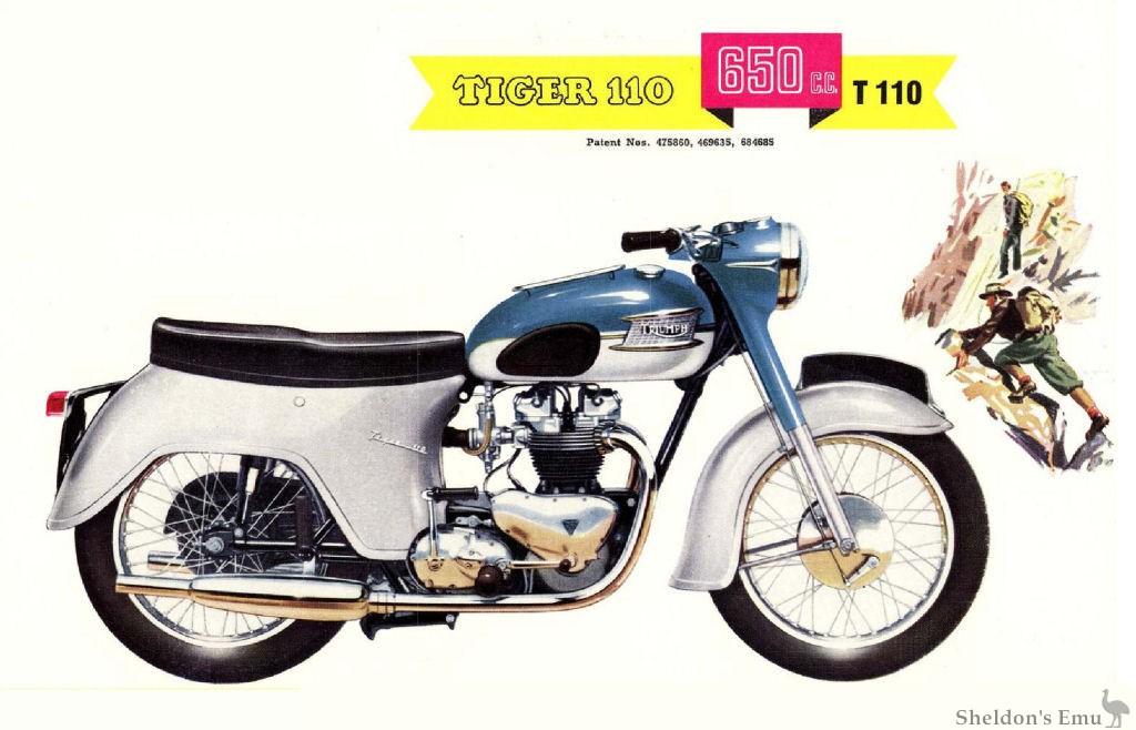 Triumph 1961 Tiger T110