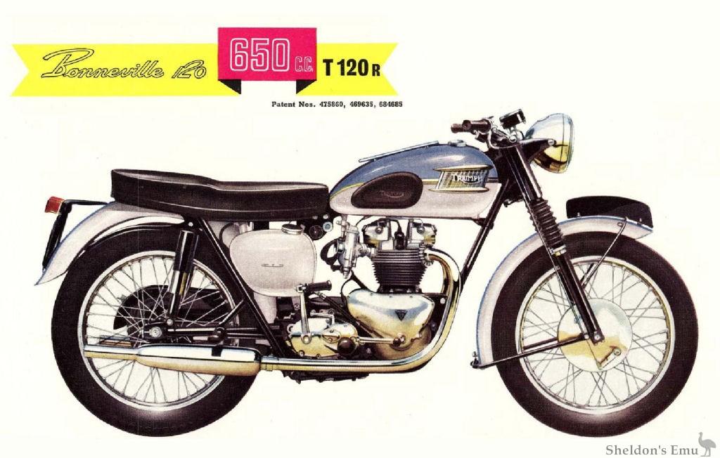 Triumph 1961 T120r Bonneville