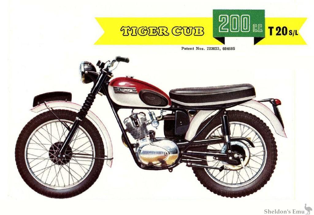 Triumph 1961 T20 Sl Cub 200cc