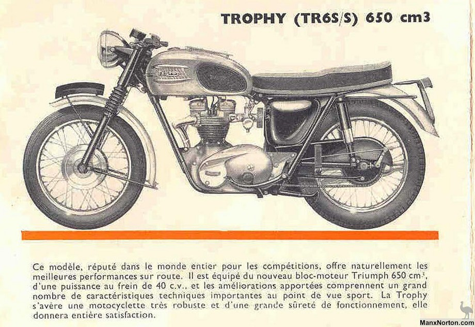 triumph tr6 trophy 1963. Black Bedroom Furniture Sets. Home Design Ideas