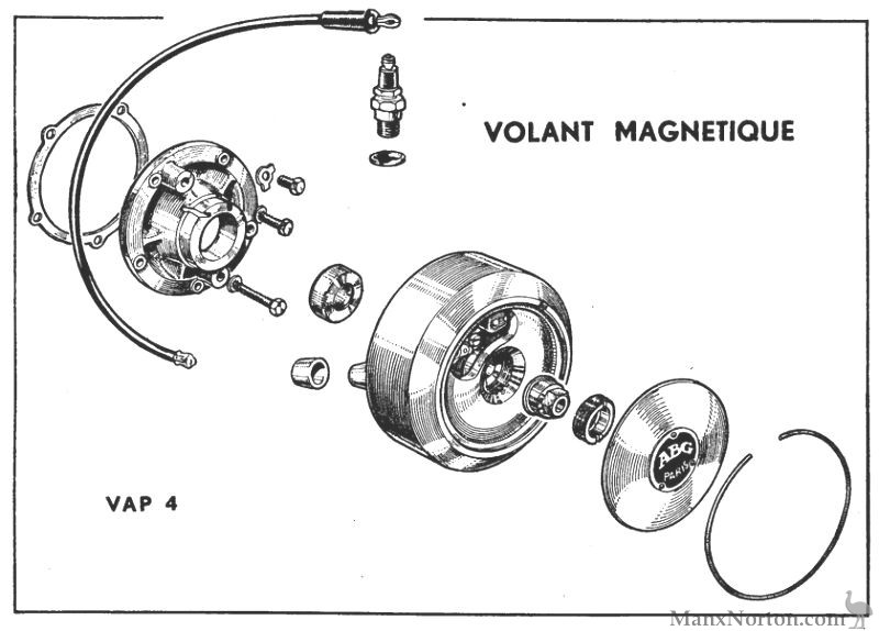 Vap 4 Flywheel Magneto Diagram