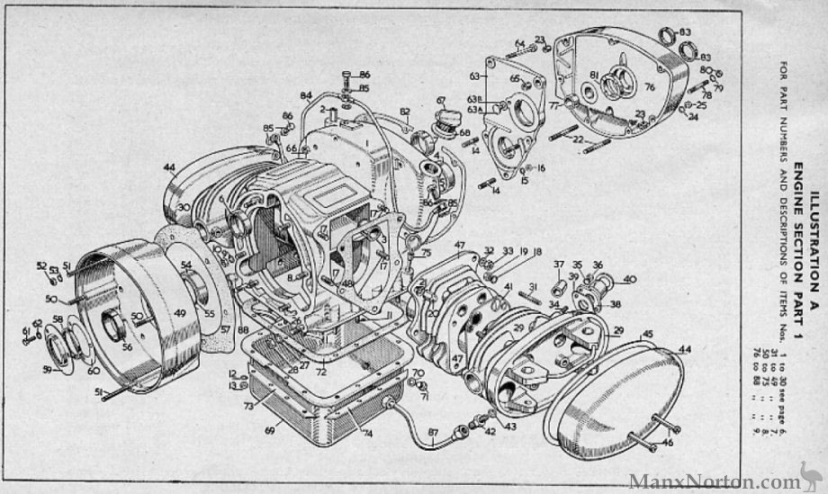 Velocette 1957 Valiant Engine Diagram