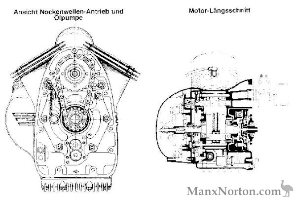victoria v twin engine diagram V-Twin Engine Drawing