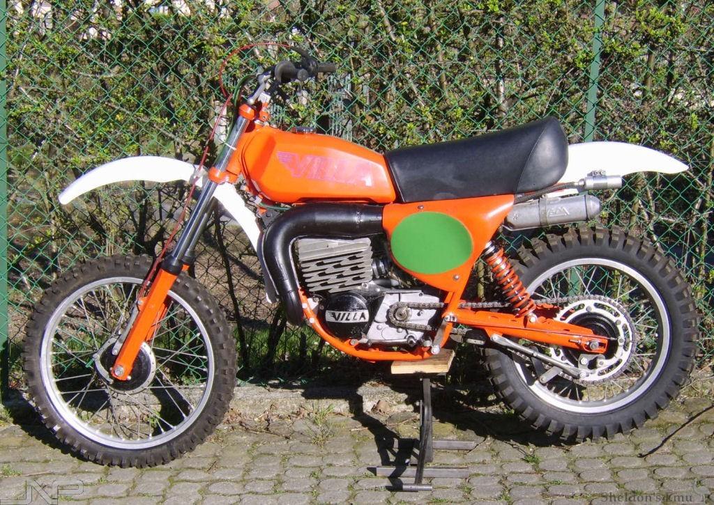 Moto Villa 1978 Mx250