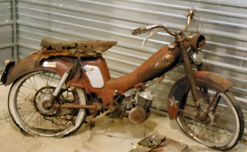 Wards Riverside Moped C1964