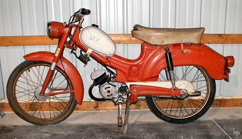 Wards Riverside Moped LHS