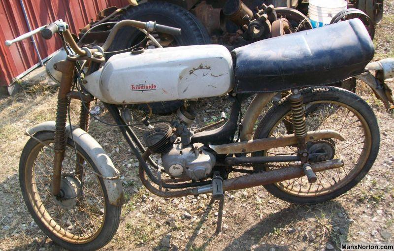 Wards Riverside Moped As Found