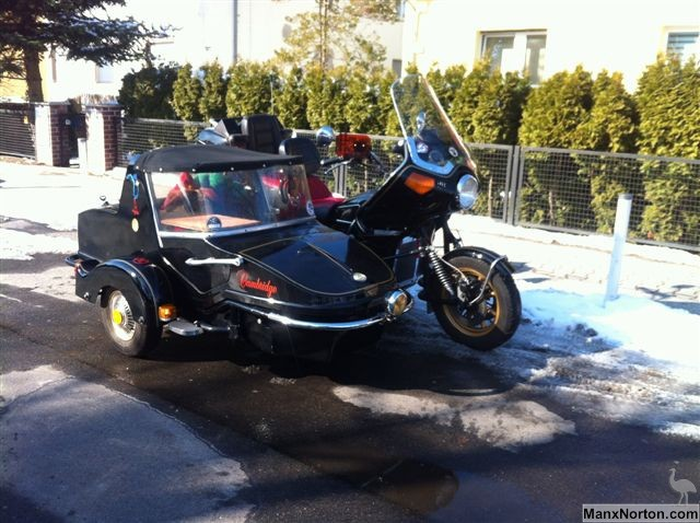Bonneville And Son >> Watsonian Cambridge Honda