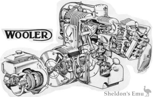 Wooler Ho Four Engine Diagram