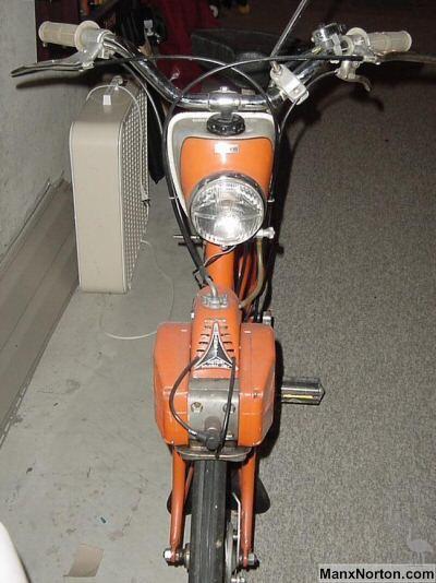 Side By Side Motorcycle >> Zanetti Motori C-50 Moped