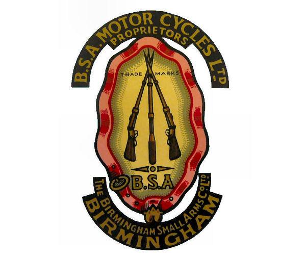 bsa motorcycle logos