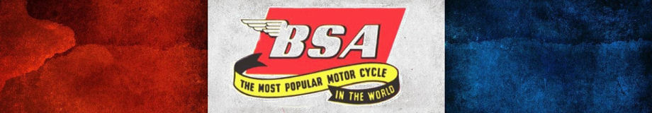 BSA Motorcycles 1950s