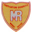 MR motorcycle logo