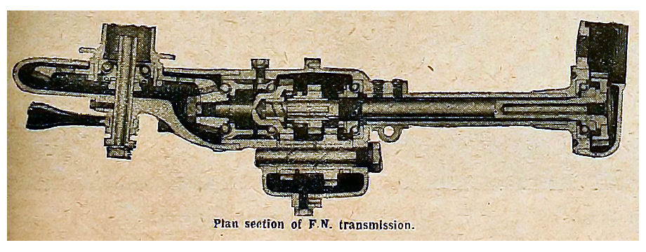 Plan section of FN. transmission.