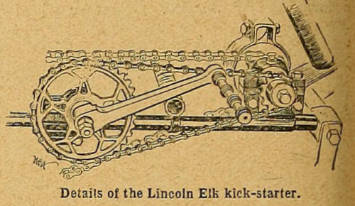 Details of the Lincoln Elk kick-starter.