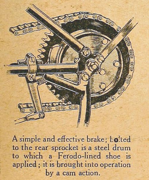 A simple and effective brake.